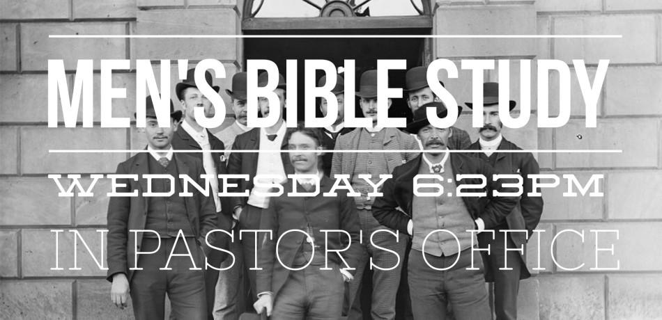 men's bible study fb